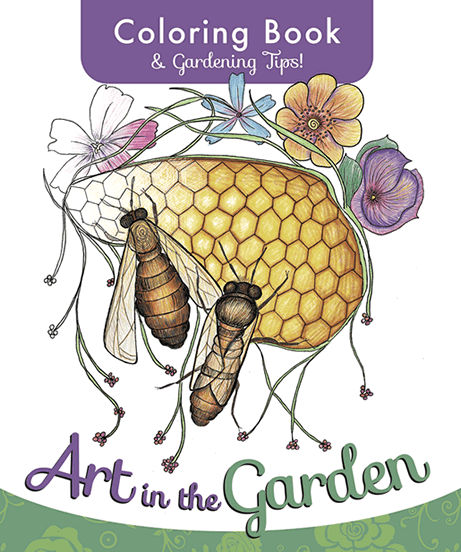 After Nearly Ten Months In The Making San Diego Master Gardener Coloring Book Art Garden Is Here 12 Artists Have Turned Scenes Of
